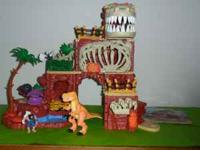 Imaginext T-Rex Mountain - Mountain with T-Rex skull on