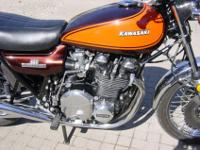 Immaculate Kawasaki Z1 900. This bike have finished
