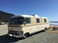 Immaculate 1972 Revcon 250 RV MotorhomeVIN (Vehicle