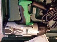 "New in box Hitachi 3/4"" impact wrench. Forward/Reverse"