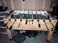 We have had this Foosball table for almost a year now.