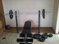 I have a brand new weight set, its in very good