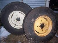 10-20 6 hole implement rims $100 1 5x15 new 3 rib front