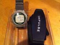 Impulse 12 Sport watch with Heart Rate Monitor $100.00