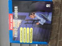 In box never used first alert fire escape ladder 14