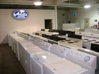 OVER 125 WARRANTIED FRIDGES, STOVES, WASHERS, AND