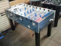Hi,folks we have an Italian made foosball table which