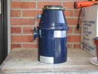 In Sink 1/2 HP Garbage Disposal ,in good condition If