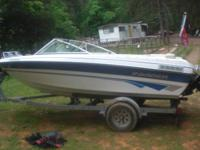 I have a 1996 Invader 16.5 foot that when i put it in