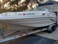 2002 CHAPARRAL SUNESTA 243 BOAT COMES WITH A 2007 MAGIC