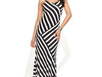 INC's slinky maxi dress gets a dose of graphic pop,