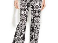Pack a patterned punch with INC's brocade printed pants