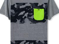 Raise your casual game with this camo graphic T-shirt