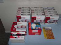 Incandescent Light Bulbs (1 Lot). Cost New: $230+. Sell