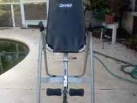 incline machine for back problems or doing exercised in