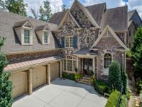 Incredible European inspired custom home in Gates at