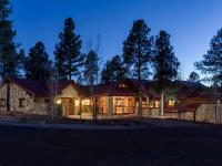An incredible luxury mountain home on a prime