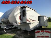 WOW! This 34ft fifth wheel by Heartland is sure to