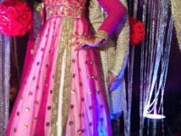 Hai my good friend. that is indian lehenga choli pink