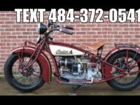 This 1931 Indian 402 was purchased in the UK in 2001