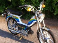 1980 AMI-50 Indian moped for the serious collector, or