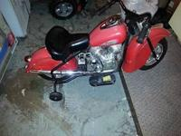 Indian motorcycle that I bought for my son when he was