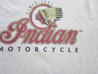 Indian Motorcycle T Shirts Original Indian NOS - New