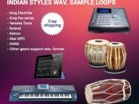These are Indian styles sample wav. loops include
