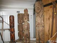 4 totems-really sharp-kept inside-price varies by