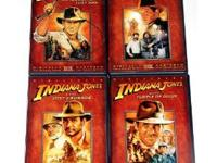 I'm selling the complete dvd collection of the Indiana