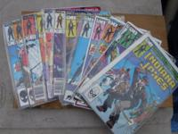 All comics in G, VG to N/M. Always been in plastic,