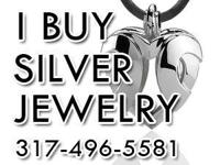 The Indianapolis silver Jewelry Buyer considers for