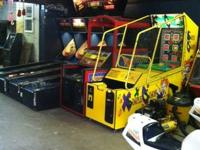 Individual Arcade Games for sale.... coin pusher,
