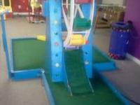 I have a very nice 9 hole indoor Putt Putt golf course