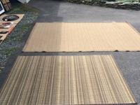 I have 3 rug for sale, indoor outdoor, all