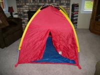 Indoor Play Tent, Great Shape $25.  Call 218-73O-741