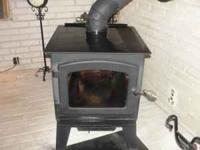 Aspen indoor wood stove for sale $400.00 OBO. The wood