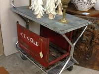 Early 20th Century Fairbanks factory cart. Original