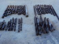 INDUSTRIAL HEAVY DUTY DRILL BITS. ALL IN USED