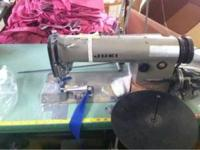 Juki Industrial Sewing Machine. Single Needle, Serger,