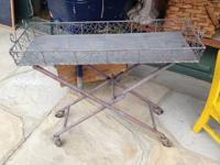 Industrial Market Cart w Tires - Sale $89.  CHECK OUT