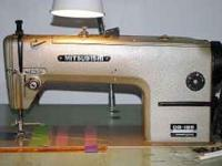 Mitsubishi Straight Stitch Industrial Sewing Machine