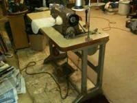 Strong running, used Industrial Sewing Machine: * Union
