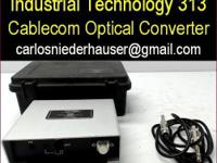 Industrial Technology design 313 Cablecom optical