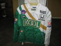 ''KOOL GREEN TEAM''----LIKE NEW AND BASE BALL JACKET