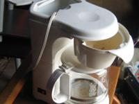 I HAVE A WHITE PROCTOR SILEX 12 CUP COFFEE MOLD($10), A