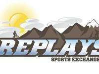 Replays Sports Exchange  We are a sports shop located