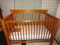 3 in 1 convertible crib, toddler bed, then headboard