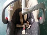 A Evenflo Infant car seat with detachable base. Thanks