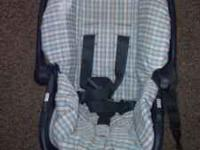 Infant car seat and stroller for sale. They are